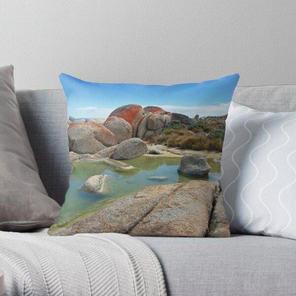 Rock pool #2 Throw Pillow