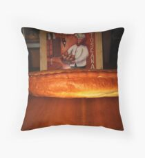 Contrasting Perception(Trabzon Bread and Toscana Bread) Throw Pillow