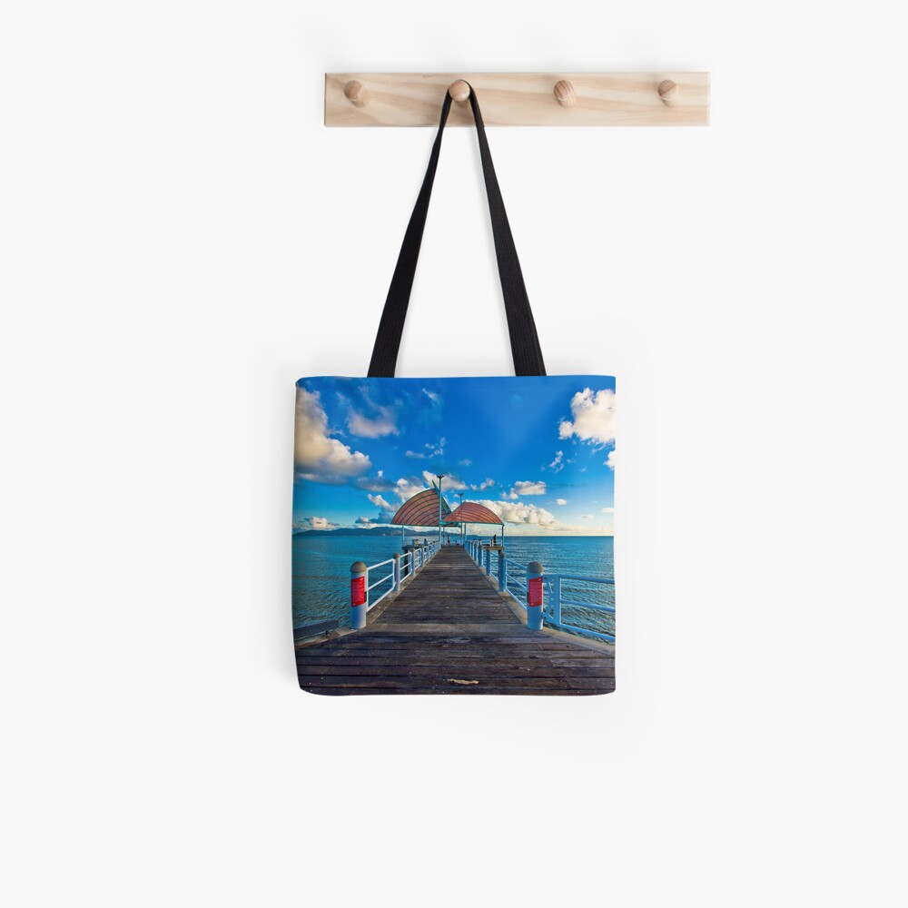 The Strand Jetty Townsville.  Tote Bag