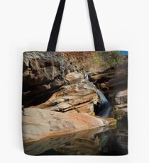 Hammersly Falls - Karijini NP, WA Tote Bag