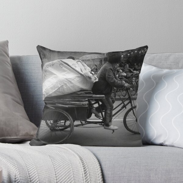No Rest For The Blessed No. 2 Throw Pillow