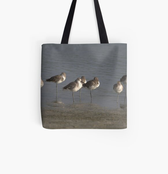 One Leg All Over Print Tote Bag
