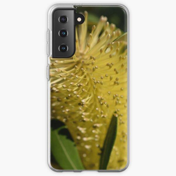 Yellow banksia flower Samsung Galaxy Soft Case
