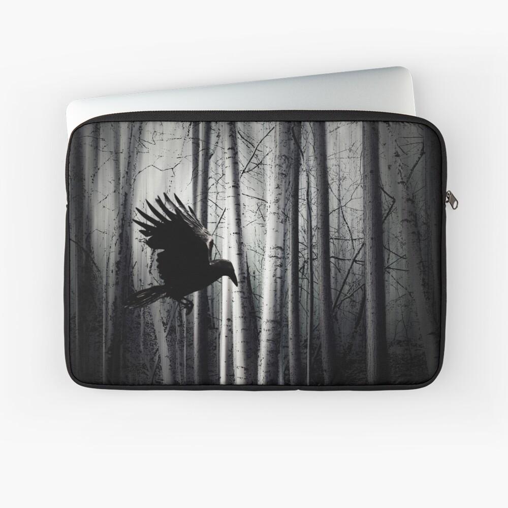 darker - Raven Laptop Sleeve