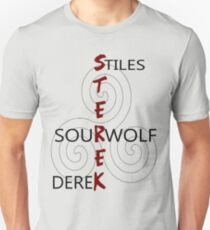 Sterek-White Unisex T-Shirt