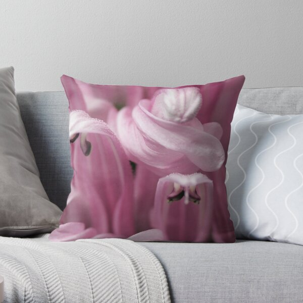 Candy Floss Throw Pillow
