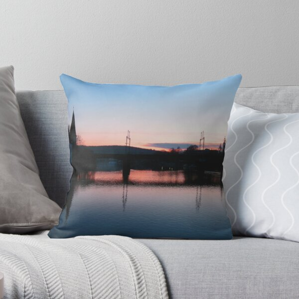 Last Day of November Throw Pillow