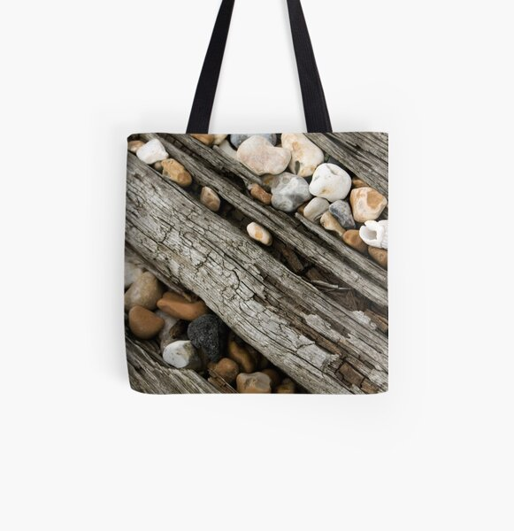Slipping through the Cracks All Over Print Tote Bag