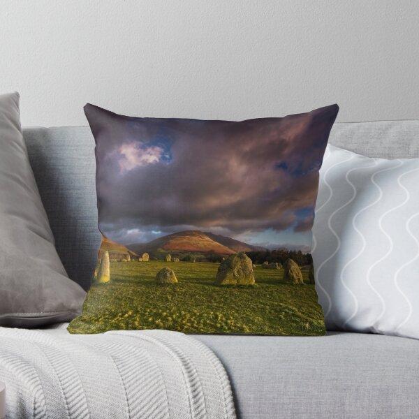 Castlerigg - Lake District Throw Pillow