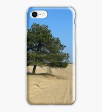 Only Sand and a Tree iPhone Case/Skin
