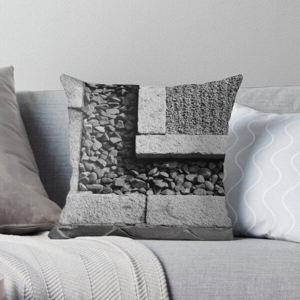 Stone Textures Throw Pillow
