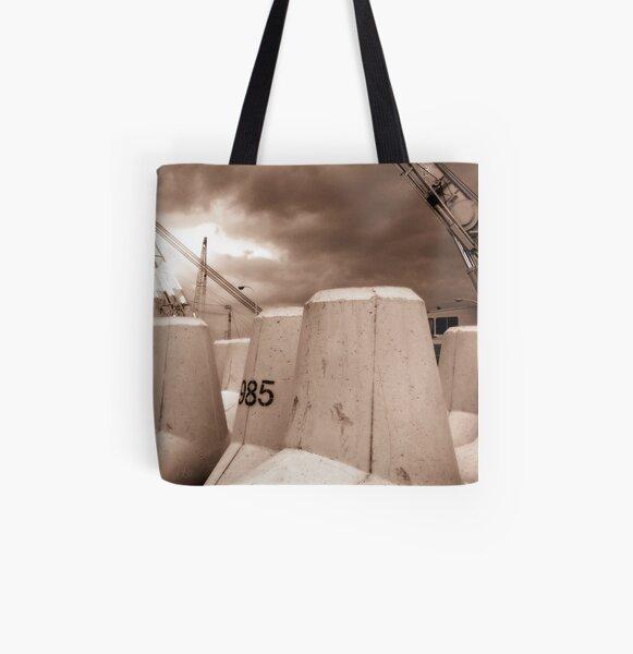 Dockside All Over Print Tote Bag
