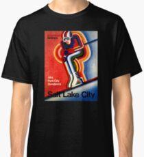 Salt Lake City Vintage Travel Poster Classic T-Shirt