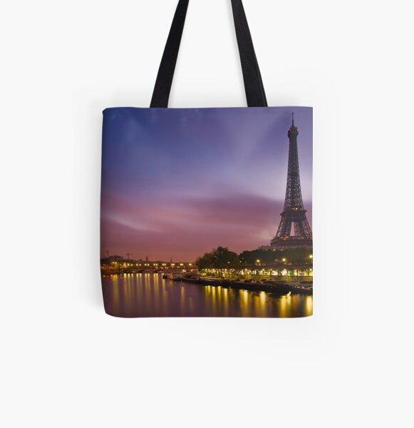 Paris, France. All Over Print Tote Bag