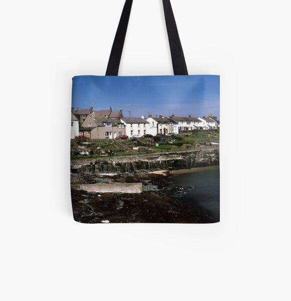Craster, Northumberland All Over Print Tote Bag