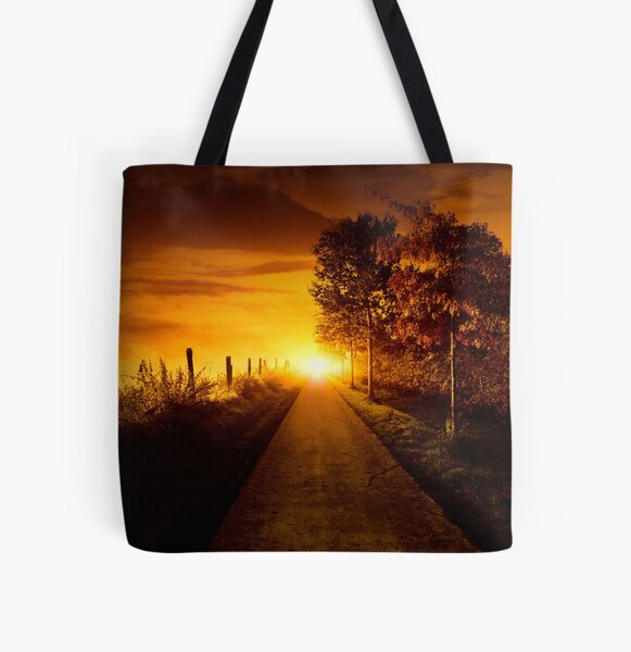 Light at the end All Over Print Tote Bag