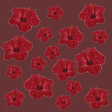 Amor del hibisco de Manitarka