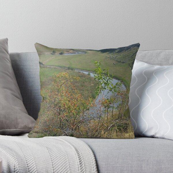 Orheiul Vechi - The River Throw Pillow