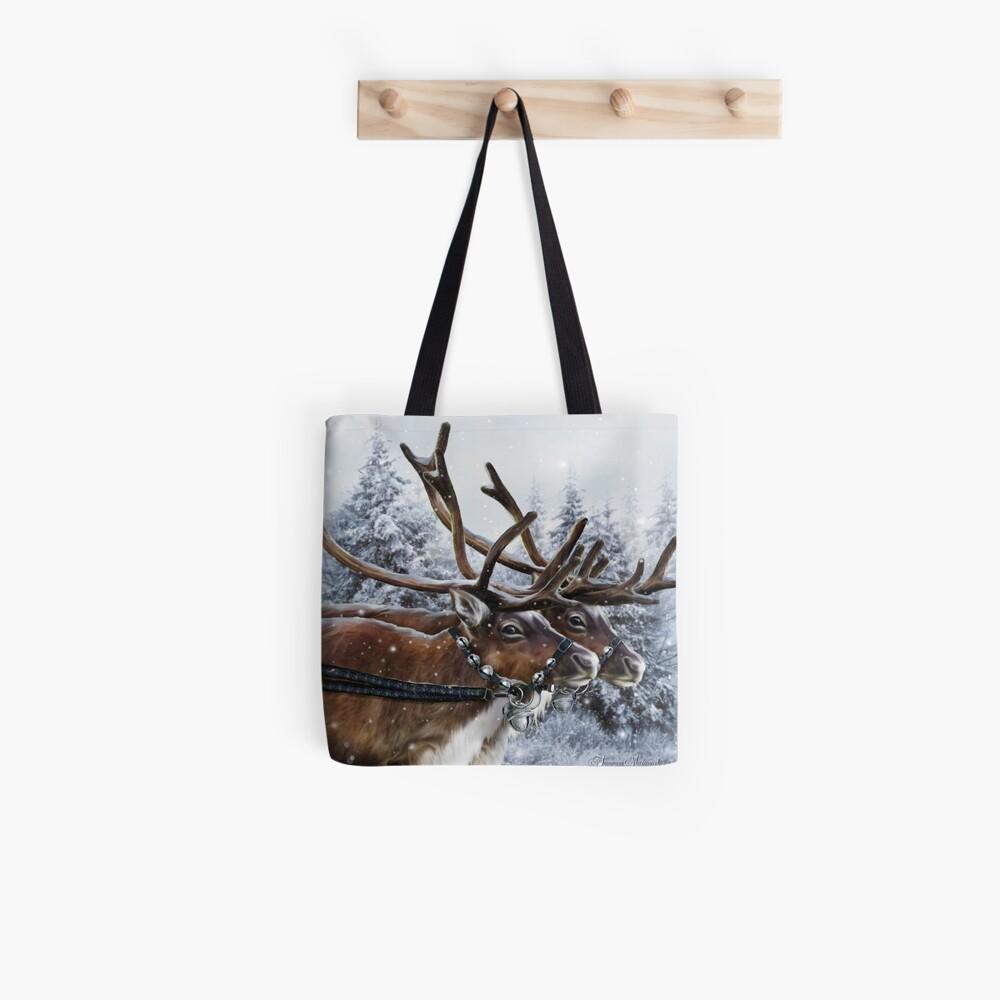 The Christmas Ride Tote Bag