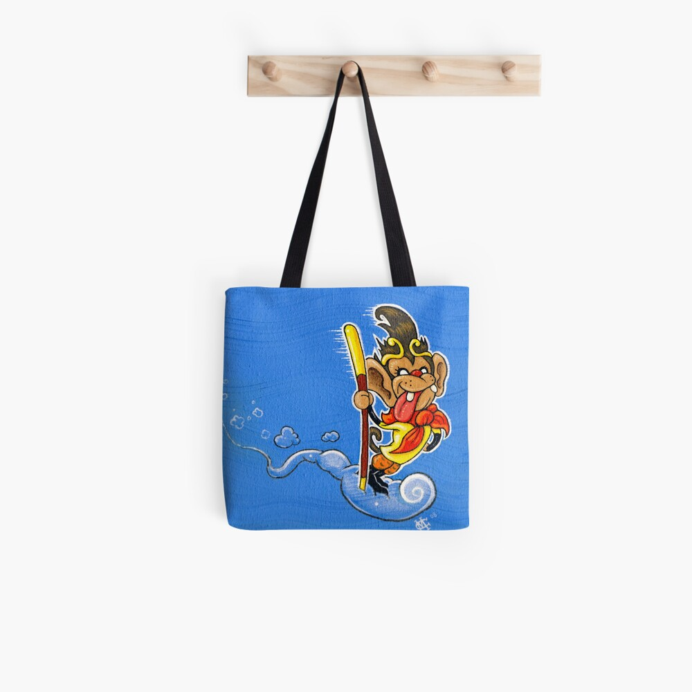 The Monkey King Tote Bag