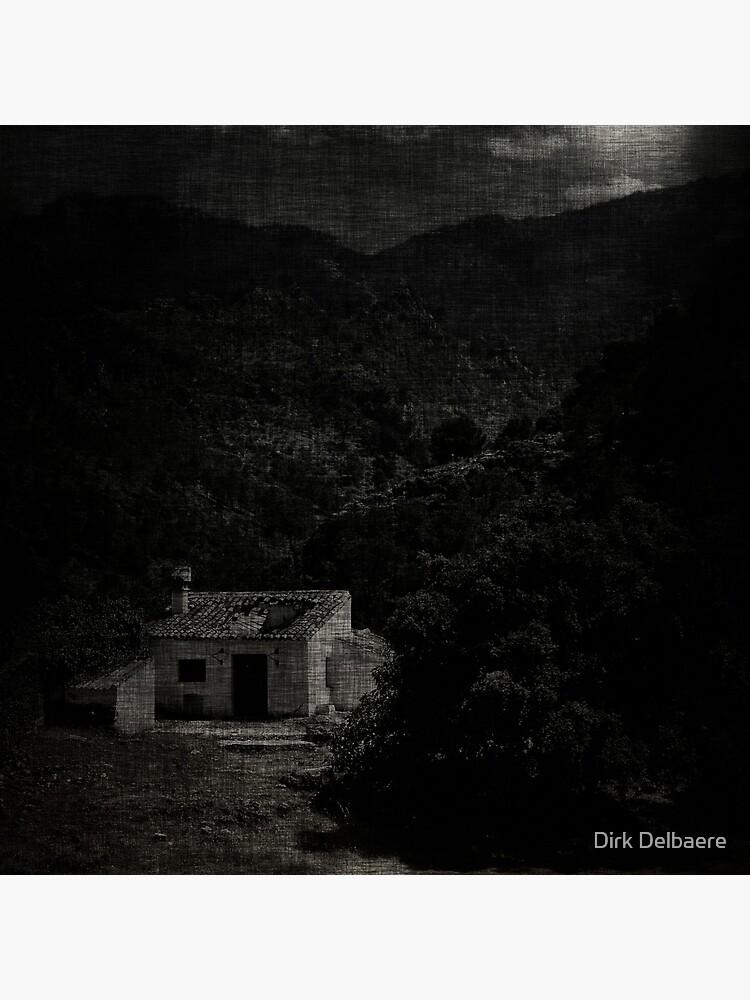 house; moonlight by Delbaere