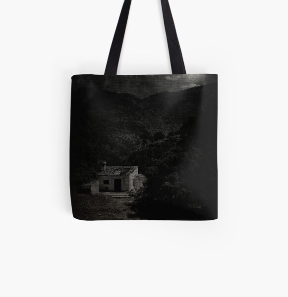 house; moonlight All Over Print Tote Bag