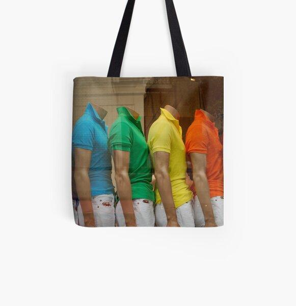 rainbow window All Over Print Tote Bag