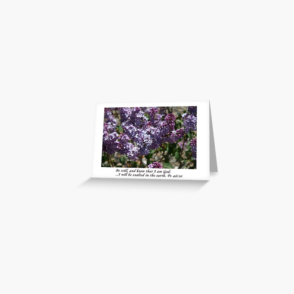 Spring Flowers Horizontal Greeting Cards with Verse - From ccnow.info Greeting Card