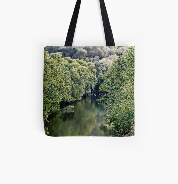 Cumberland River All Over Print Tote Bag