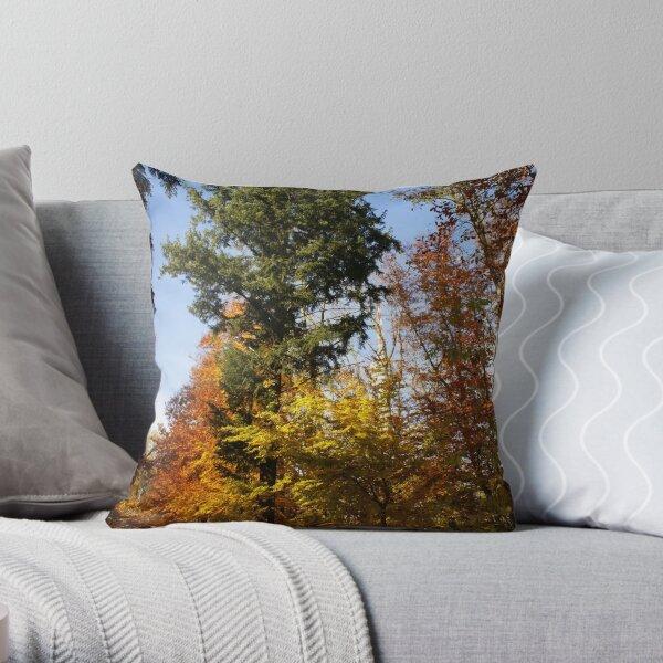 A Tree Among Trees Throw Pillow