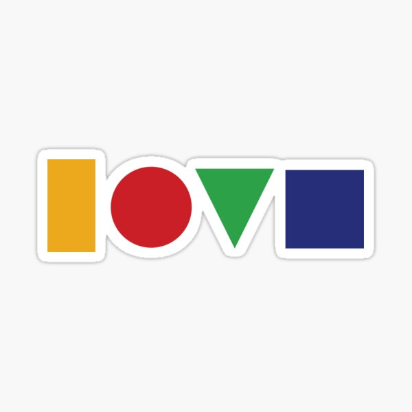 Love Is a Four Letter Word Jason Mraz Album Cover Art Sticker