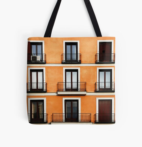 Madrid, Spain. All Over Print Tote Bag
