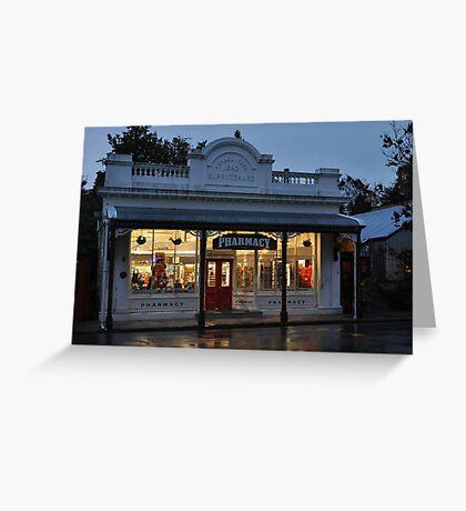 Arrowtown Pharmacy Greeting Card