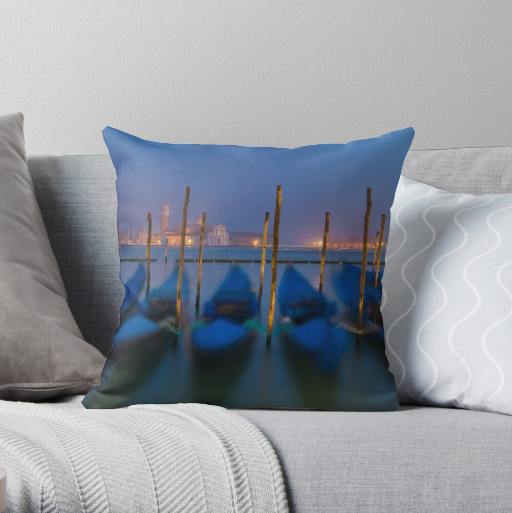 Venice, Italy. Throw Pillow
