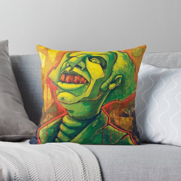 The Amighty Dollah Throw Pillow
