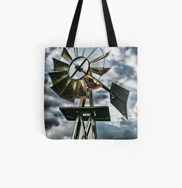 My Share of Time All Over Print Tote Bag