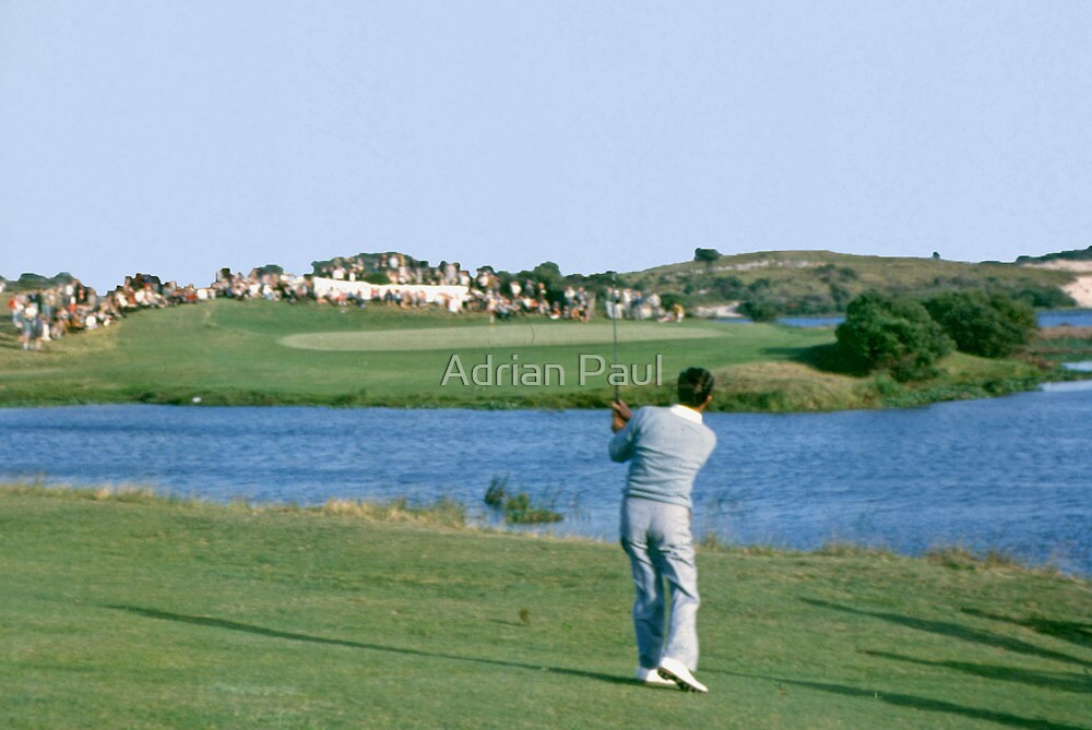 Golfing Legends : Peter Thompson - Australian Open Golf, The Lakes, Sydney, 1964 by Adrian Paul