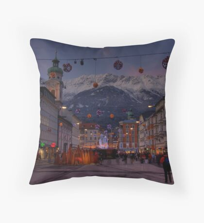this time of the year ... Throw Pillow