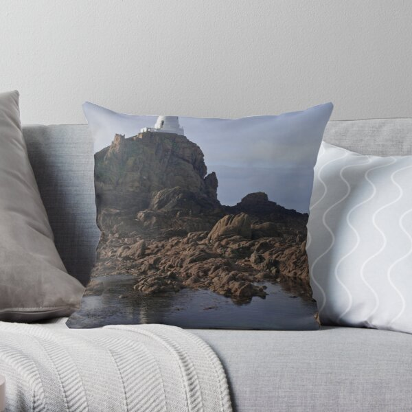 Light on the mount Throw Pillow