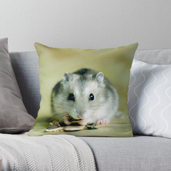 Cute Hamster Throw Pillow