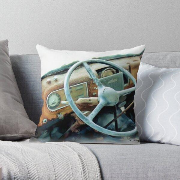 48' Ford interior Throw Pillow