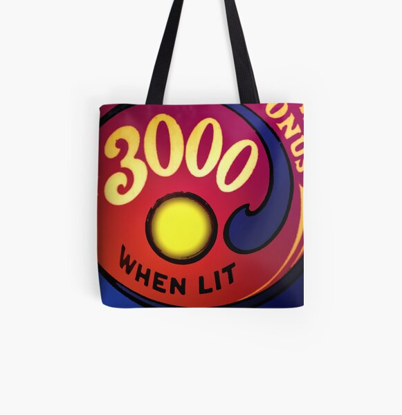Special When Lit All Over Print Tote Bag
