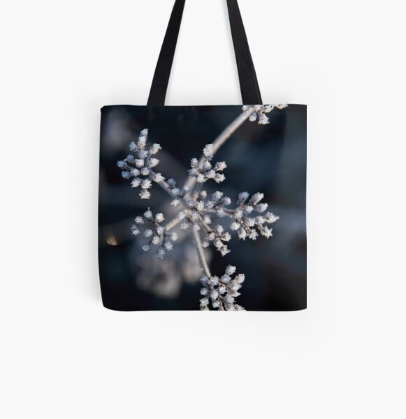 Spaces Between Light and Cold All Over Print Tote Bag