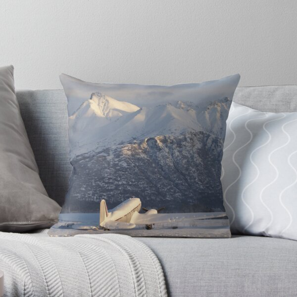 Summer Will Come Throw Pillow