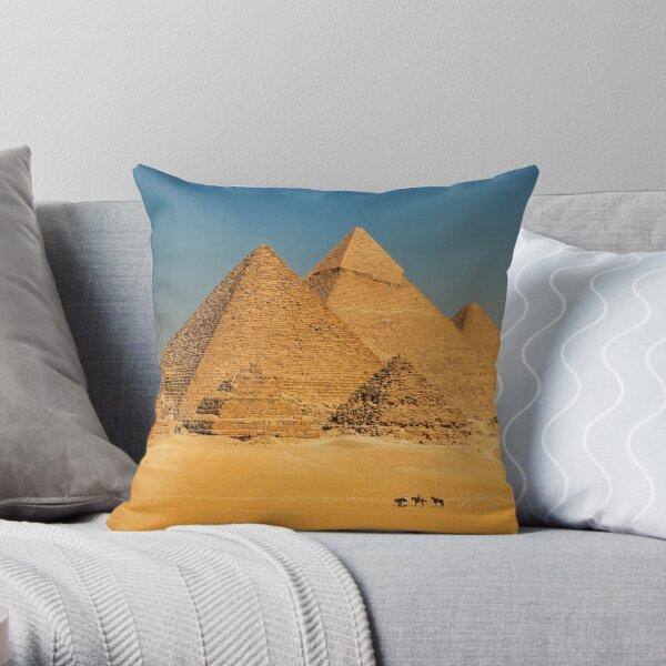 Cairo, Egypt. Throw Pillow