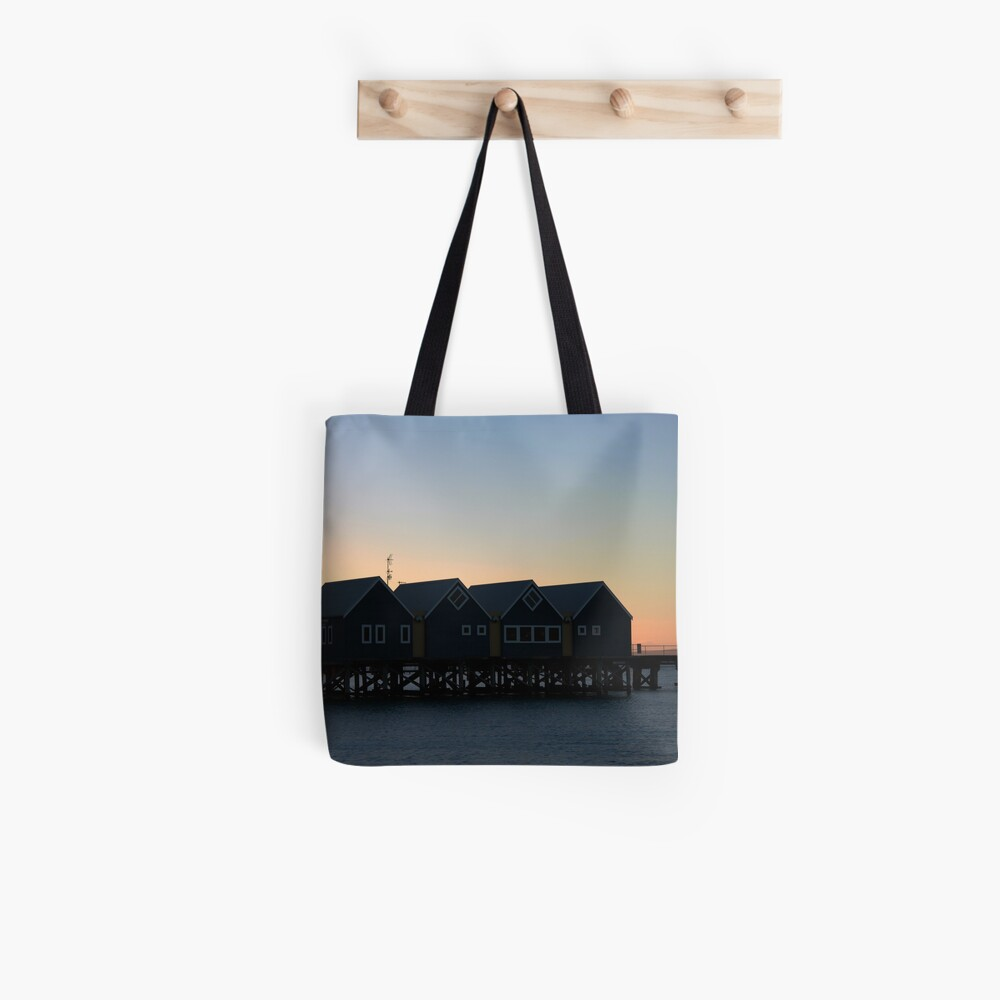 Busselton Sunset HDR Tote Bag
