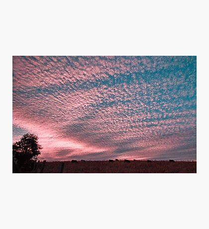 Sunset in Boonah Photographic Print