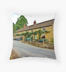 Blacksmiths Arms - Lastingham Throw Pillow