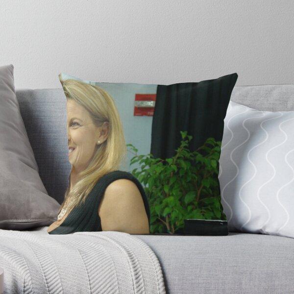 Lovely Lady 21 - Vanna White Throw Pillow