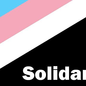 """""""Solidarität"""" - Flagge der Transgender-Anarchie von dru1138"""